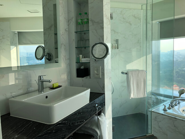 ル・メリディアン クアラルンプール バスルーム