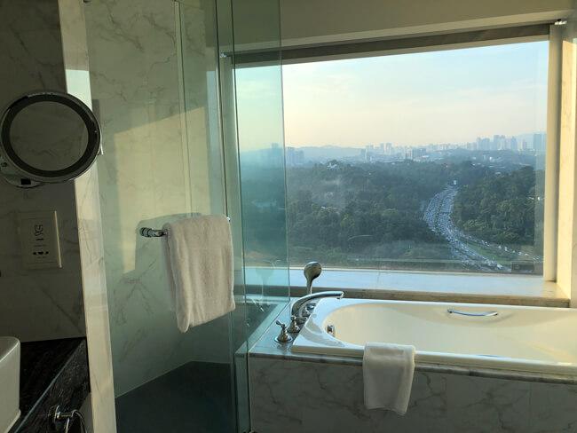 ル・メリディアン クアラルンプール 浴槽